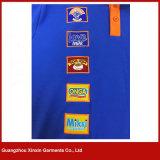 Hiqhの品質の私のロゴ(P151)の100%年の綿の悪感情のメンズによってカスタマイズされるポロのTシャツ