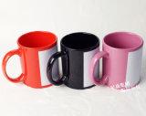Tazza di ceramica di colore completo della tazza 11oz di sublimazione