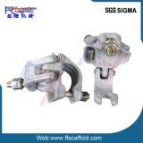Abrazadera del andamio/acoplador fijo certificado sigma de la fijación/guarnición doble