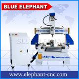 Selbst gemachtes Thermwood Vietnam Indien Dubai 3D Mini-CNC-Holz, das den Stich maschinell hergestellt in China schnitzt