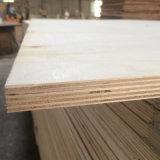 Bois de construction de contre-plaqué de faisceau de peuplier pour l'usage d'emballage de palette (21X1220X2440mm)