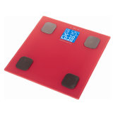 Báscula electrónica de la escala de grasa corporal