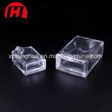 frasco de vidro do perfume vazio do retângulo de 30ml 50ml 100ml