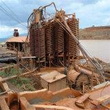 El equipo de la vertedera espiral de minería de la gravedad de la selección de Minerales Pesados