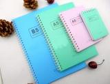 Cuaderno de papel espiral Kraft de la alta calidad