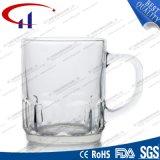 220ml極度の白いガラスビールのジョッキ(CHM8058)