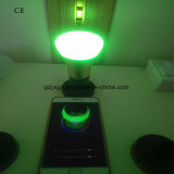 Aluminiumshell 7W WiFi intelligentes RGBW LED Birnen-Licht
