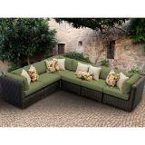 Sofa en osier bon de Furnir Wf-17014 avec des coussins