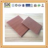 El diseño de madera popular los paneles del techo de PVC