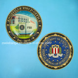 Metall Souvenir Coin mit Printing Decal (Ele-C122))
