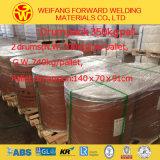 collegare di saldatura di Aws A5.18 Er70s-6 dell'imballaggio del timpano 250kg