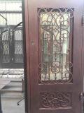 Дверь всей Handmade ковки чугуна одиночная