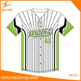 Base-ball surdimensionné Jersey de sublimation d'OEM de premiers vêtements de sport de vente de Healong