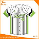 Baseball surdimensionato Jersey di sublimazione dell'OEM degli abiti sportivi superiori di vendita di Healong