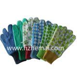Coutures en coton Gants de jardin colorés Gants pour enfants Gant de travail