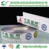 PE/PVC/Pet/BOPP/PP schützender Film für Aluminiumprofil/Aluminiumplatte/Aluminium-Plastikvorstand/Colord Belüftung-Profil