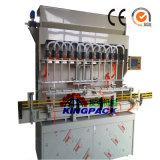 부식성 액체 표백제 충전물 기계