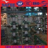 Tipo IEC 60372 da névoa de China U300b 150kn dos isoladores do disco do vidro temperado com certificado - isolador de vidro de China, isolador 275kn