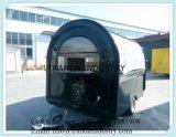 移動式食糧トレーラーLPG X2のサイズ15X6のフィートの新しいグリドル