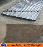 Hoja de acero del material para techos del Galvalume acanalado