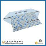 Caja de embalaje de papel plegable del color (GJ-Box042)