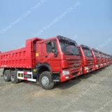 Sinotruk HOWO 6X4 rote Farben-Kipper für Äthiopien