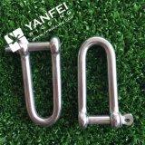 Jumelle de l'acier inoxydable D avec le Pin de vis