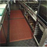 Aucunes nattes en caoutchouc résistantes de cuisine d'odeur/pétrole d'intérieur