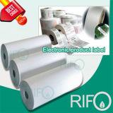 La calidad BOPP Jumbo para rollos de película etiquetas sintéticas con MSDS