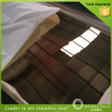 Hotel DecorationのためのSUS 304 Golden Plate Super Mirror Finished Stainless Steel Sheet