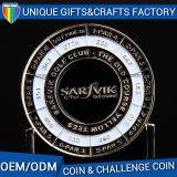 Su ordinazione la moneta del metallo dell'oggetto d'antiquariato di disegno della pressofusione 3D