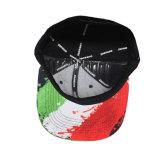 Acrylic Snap Back Caps com borda plana colorida impressa digital