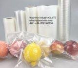 Sacchetto di vuoto dell'alimento fresco del LDPE Disoppable con la serratura della chiusura lampo per il sacchetto di conservazione in congelatore