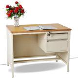 Escritorio de oficina moderno de calidad superior del marco del metal de los muebles con los cajones