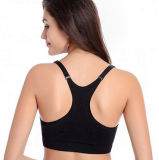 Soutiens-gorge du yoga des femmes sans joint de haute résistance minces de compactage en bonne santé de dri de mode