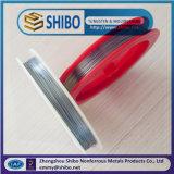 99.95% Filamento puro del volframio, alambre de tungsteno modificado para requisitos particulares de la talla
