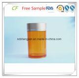 bouteille en plastique de l'animal familier 100ml pour l'empaquetage pharmaceutique de médecine de médecine