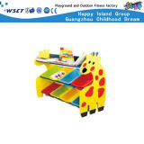 Gabinete de armazenamento de plástico com desconto Móveis de jardim de infância (M11-07312)