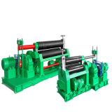 W11 기계적인 3 롤러 대칭 격판덮개 회전 기계