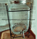 Wijd Fles van het Glas van het Sap van de Kruik van het Sap van de Opslag van het Glas van het Gebruik de Kruik Ingeblikte