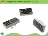 Indicador de diodo emissor de luz triplo do segmento dos dígitos 7 de 0.56 polegadas (WD05631-A/B)