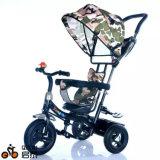 4 in 1 Driewieler van de Baby van het Kind Multifunctionele, de Wandelwagen van de Baby, Kinderwagen de Met drie wielen van de Driewieler van Jonge geitjes