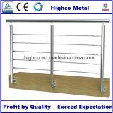 Support de mur en tube rond pour balustre, rampe et barrière