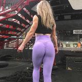 Тренажерный зал женщин стыковой поднимите вплотную спорта Leggings фитнес брюки для занятий йогой