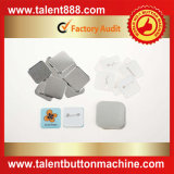 Botón talento cuadrado 37x37mm PIN BOTÓN