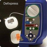 Defibrillator Meditech Defixpress met de Technologie van de Onregelmatige Opsporing van de Hartslag