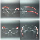Occhiali di sicurezza dell'obiettivo del PC di alta qualità con il rilievo molle (SG123)