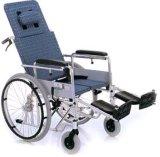 High Back Resto Wheel Chair Aluminum para cadeira de rodas (Hz123-06-24)