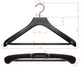 Non Slip Trouser Bar Suit Black Household Anti-Slip Gancho de roupa de madeira