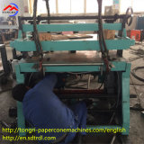 Fabrik-Preis-halbautomatischer Papierkegel, der Maschine für Gewebe herstellt